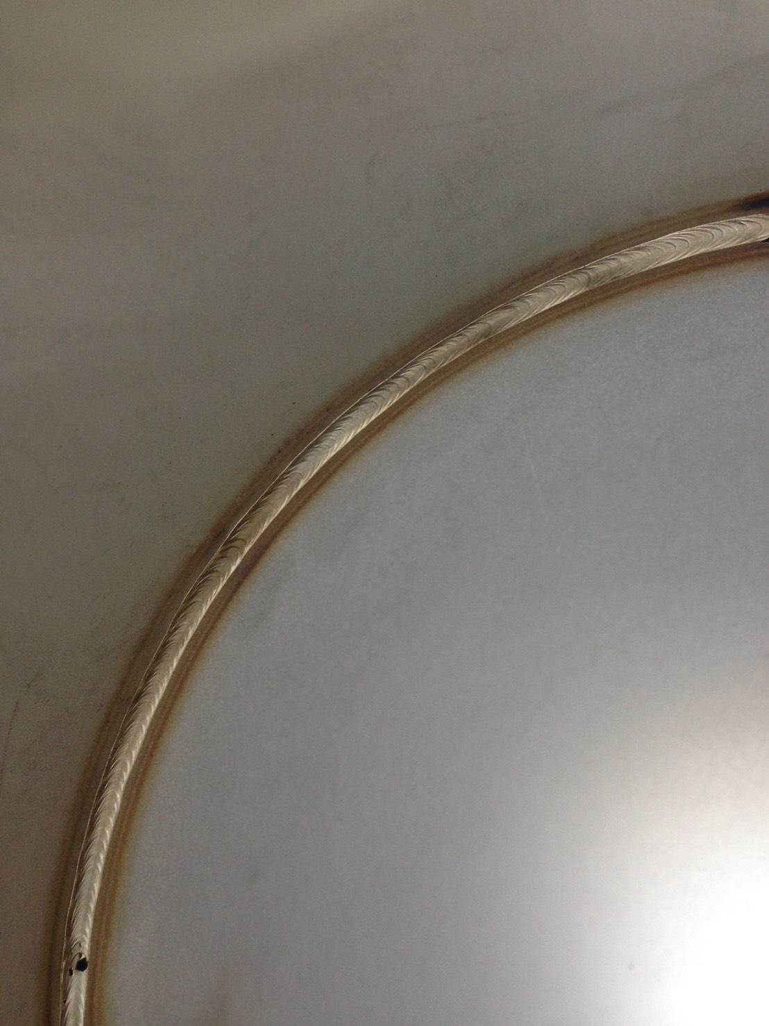 SUS配管裏波溶接加工
